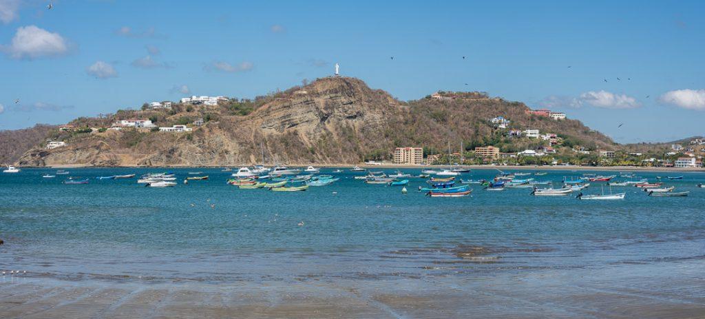 The bay of San Juan do Sur, Nicaragua